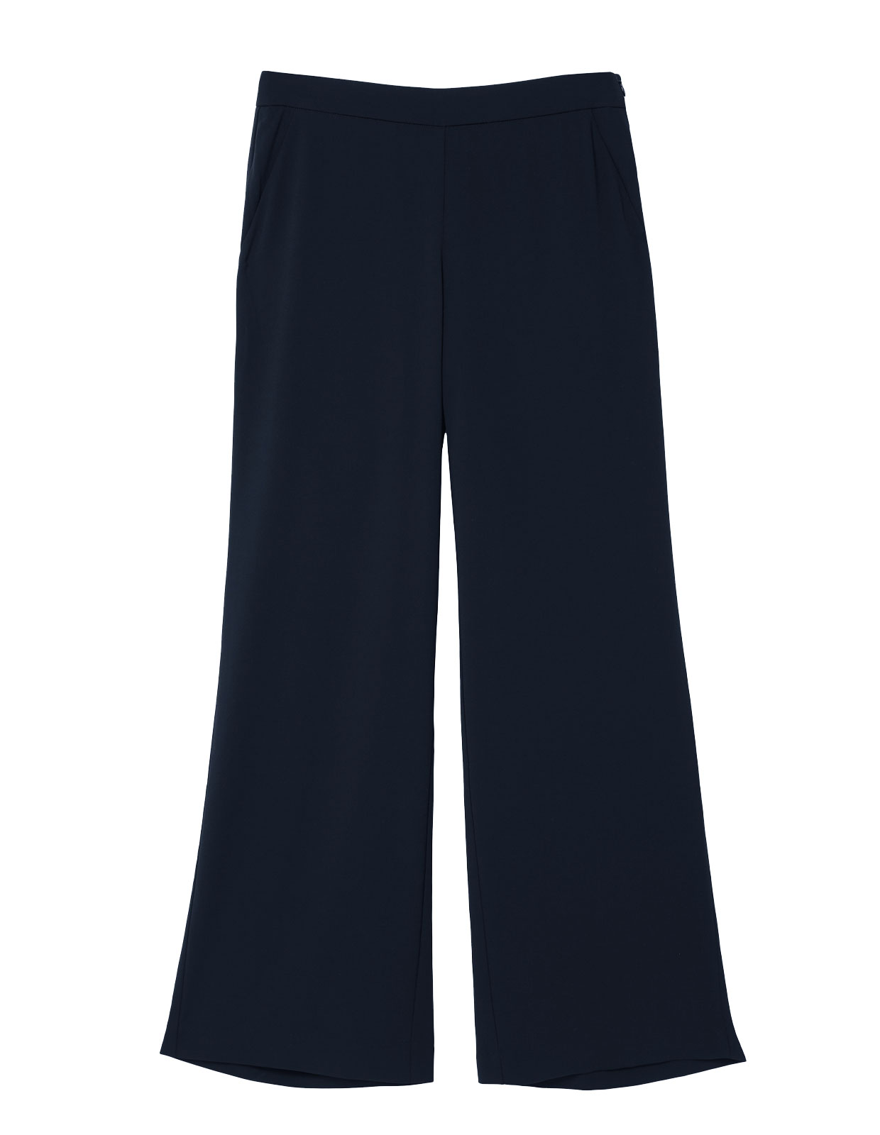 Ingrid Trouser zip at side Midnight
