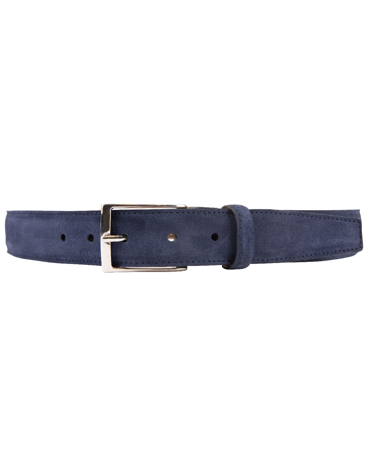 Timeless 3,5cm Belt Suede Calf Dark Navy Stl 115