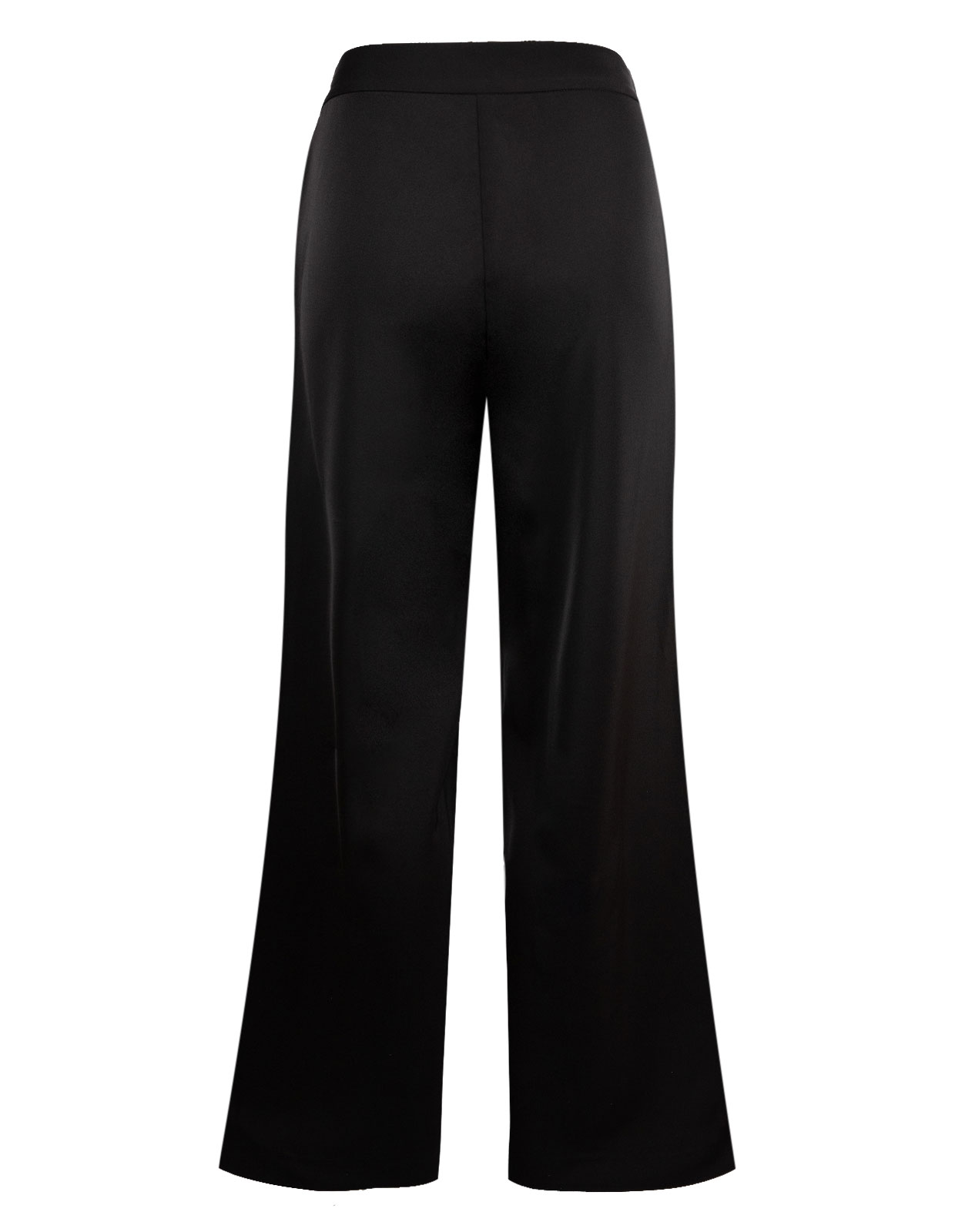 Ingrid SatinTrousers Black