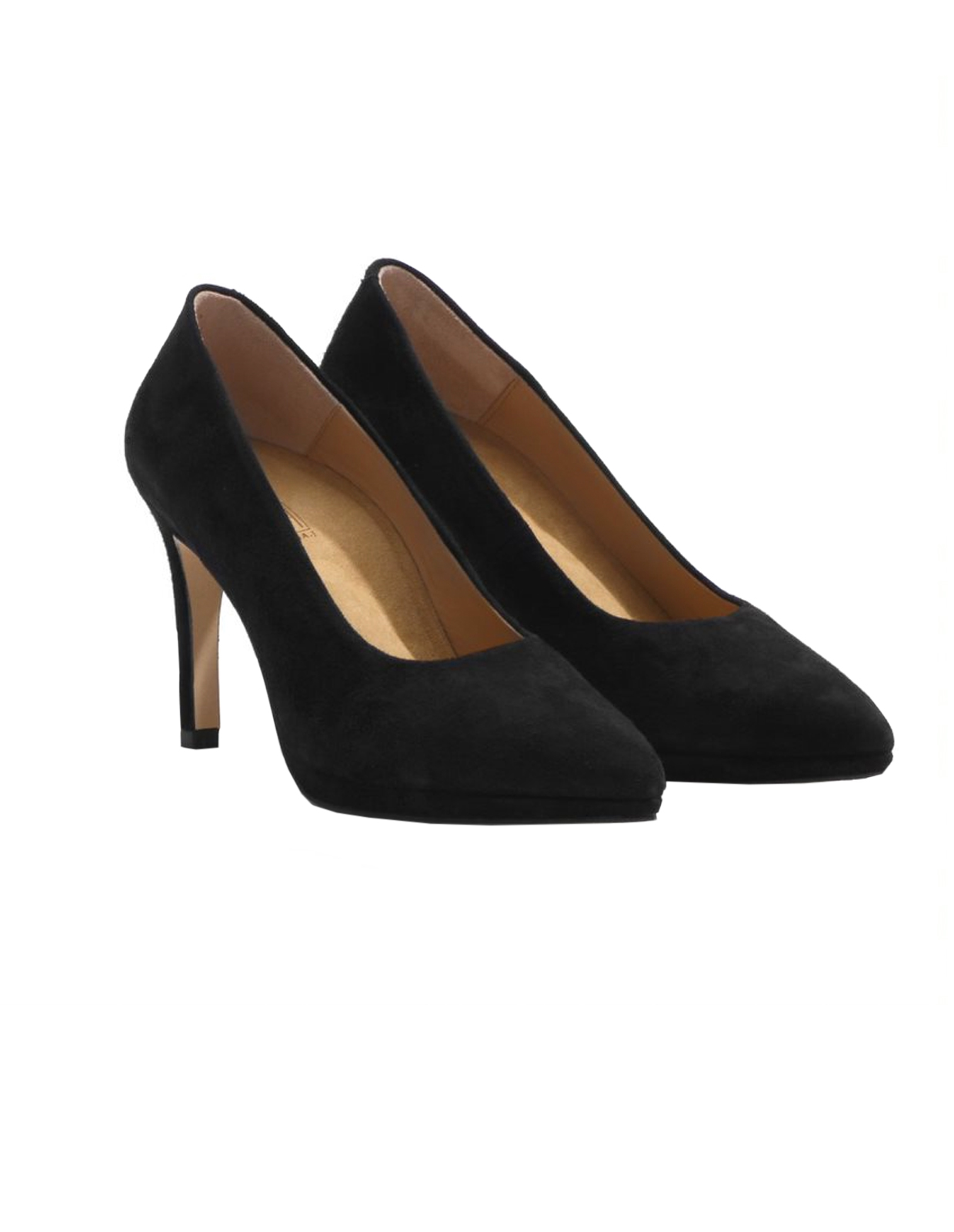 Denise pumps 9cm BLACKSUEDE