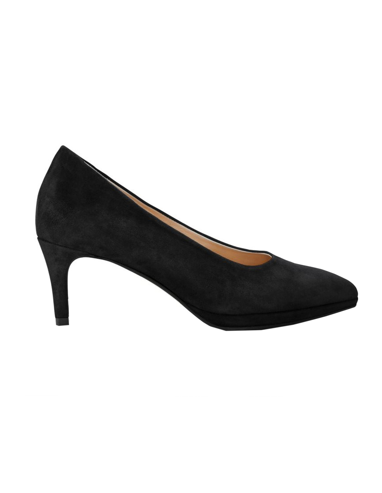 Denise pumps 6cm BLACKSUEDE