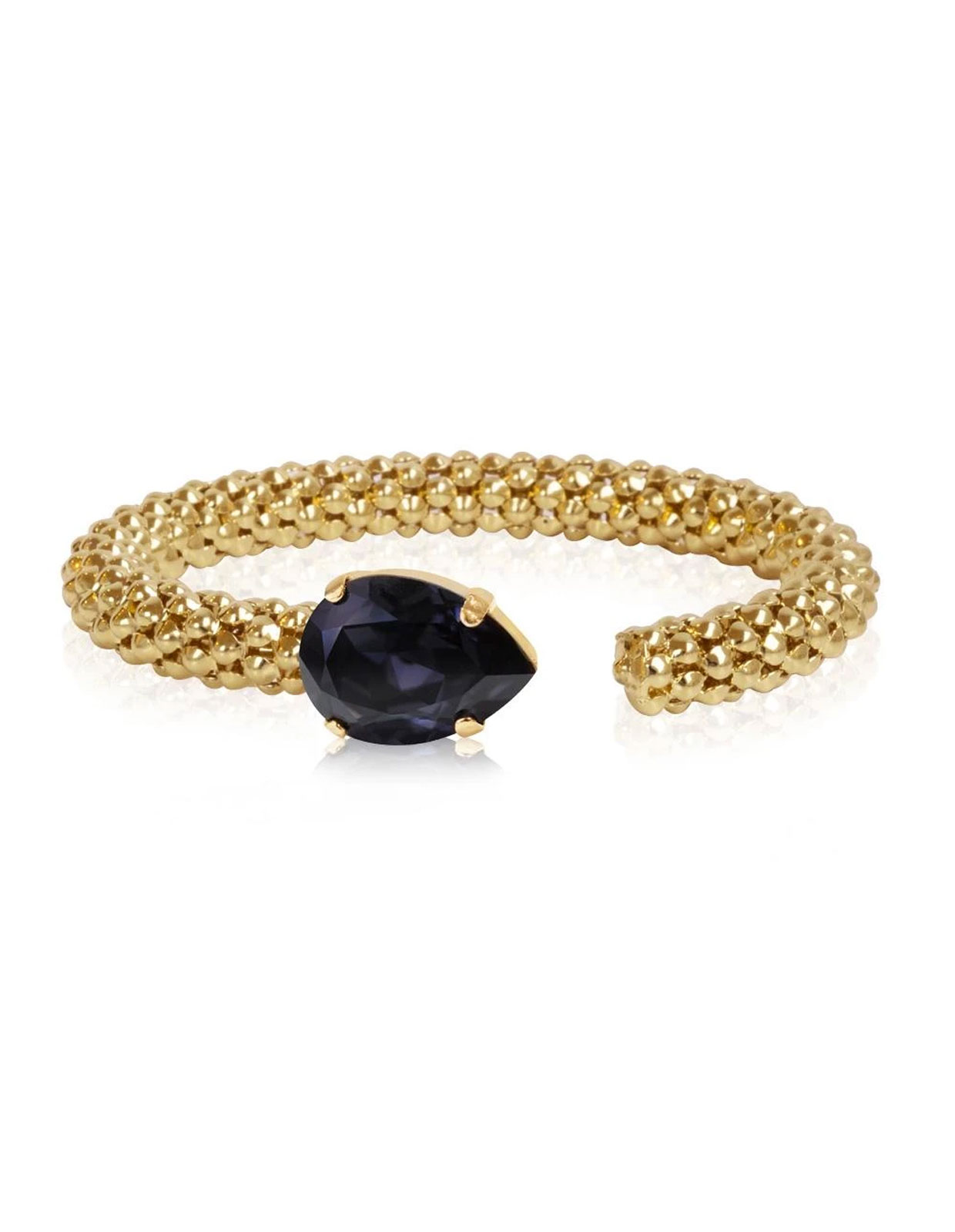 Classic Rope Bracelet gold Graphite