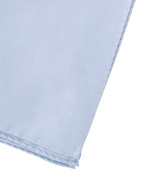 Pocket Square Cotton Light Blue