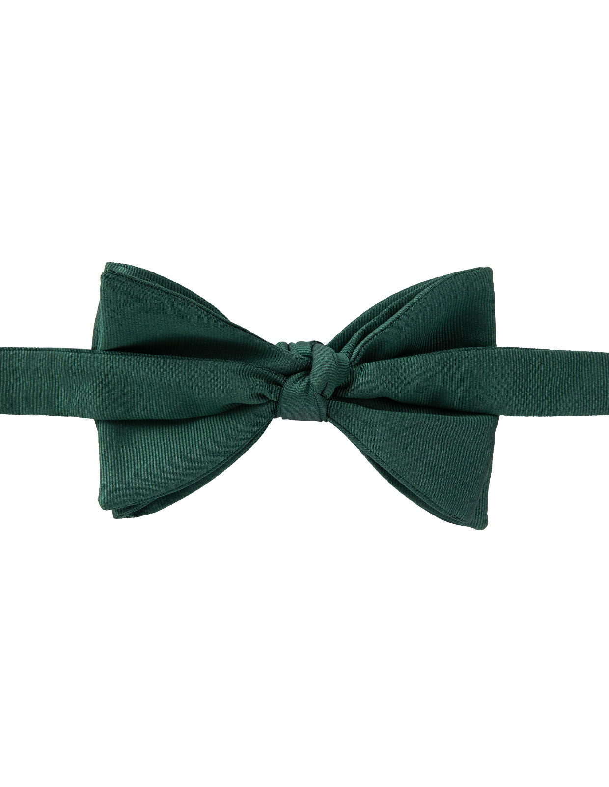 Classic Bow Tie Silk Dark Green
