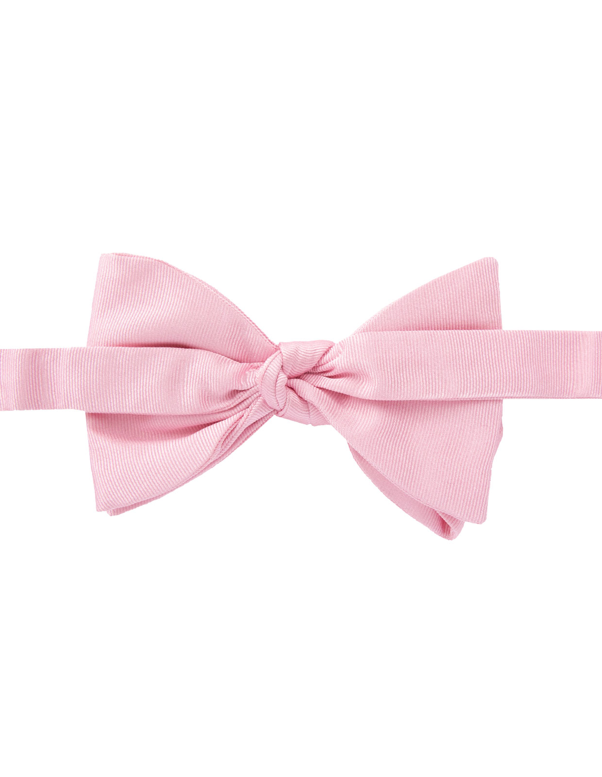 Classic Bow Tie Silk Pink