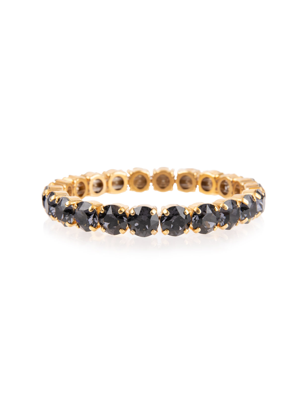 GIA stretch Bracelet gold Graphite