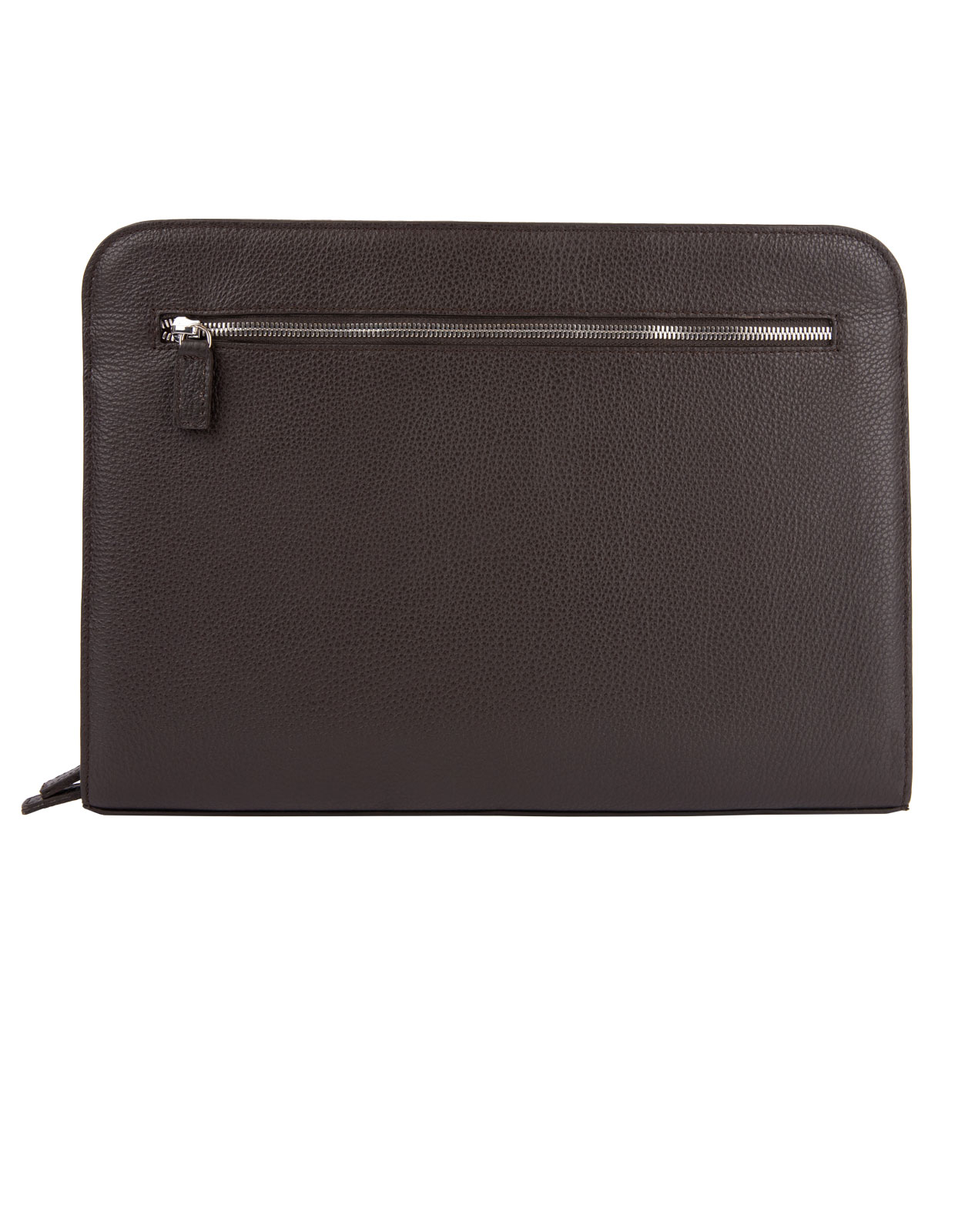 Document Case Bottalato Leather DarkBrown
