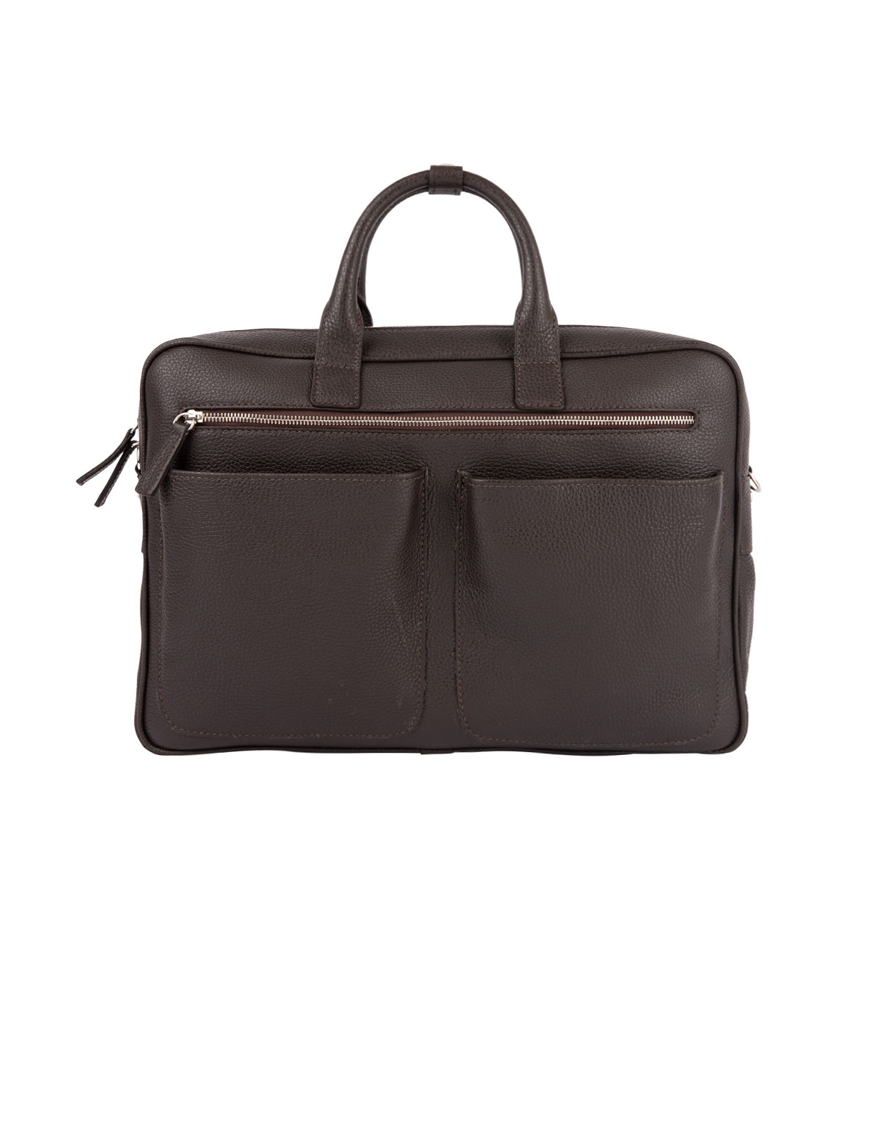 Briefcase Work Bag Bottalato DarkBrown