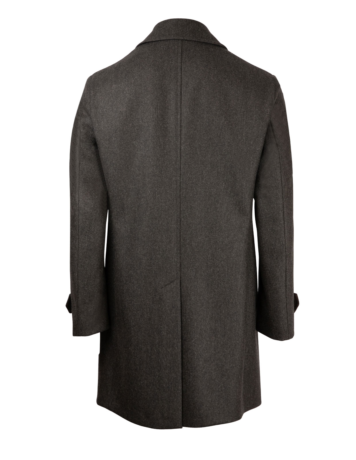 Coat 7387 Vitale Barberis Canonico Vintage DarkGreenMel