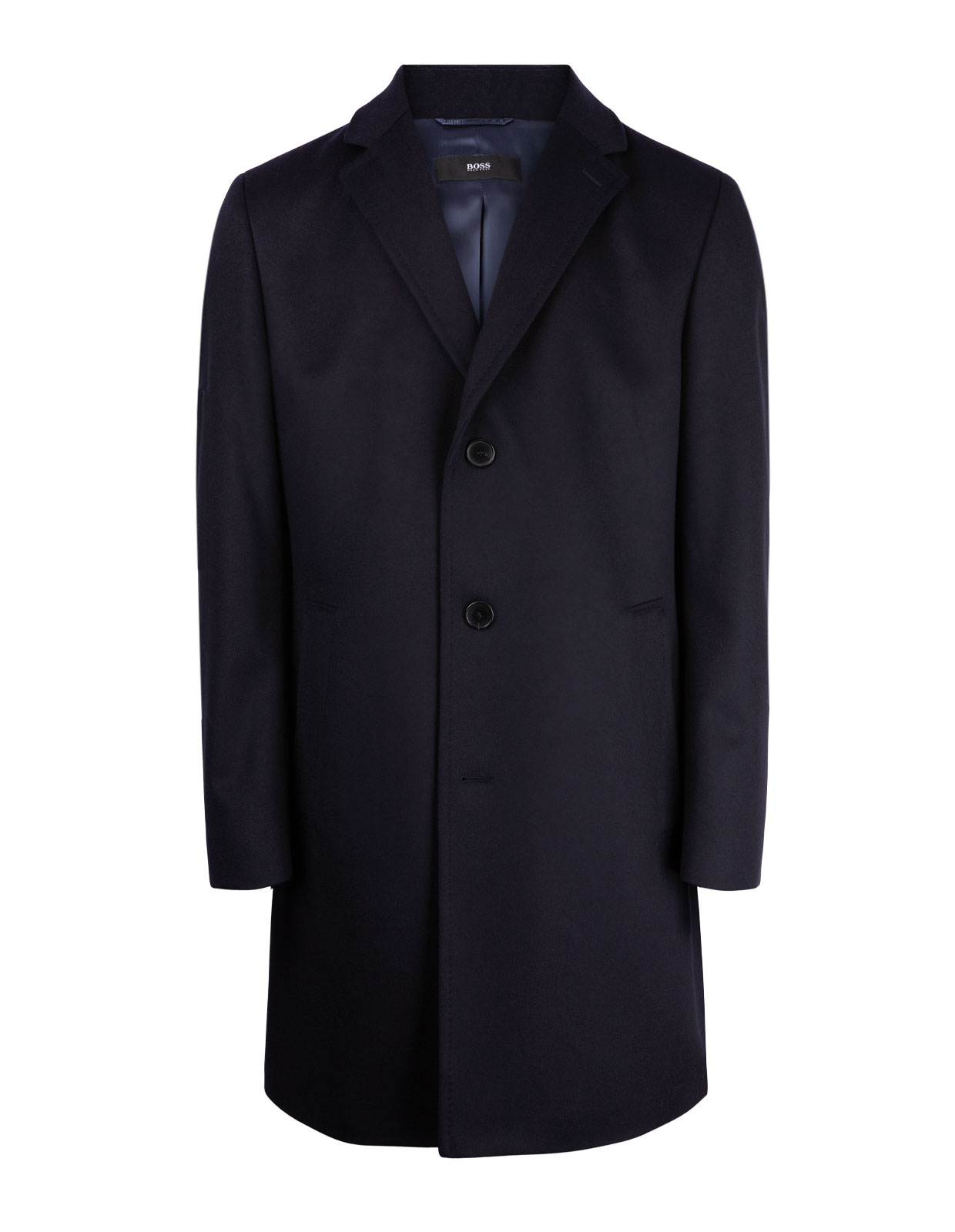 Stratus Wool & Cashmere Coat DarkBlue