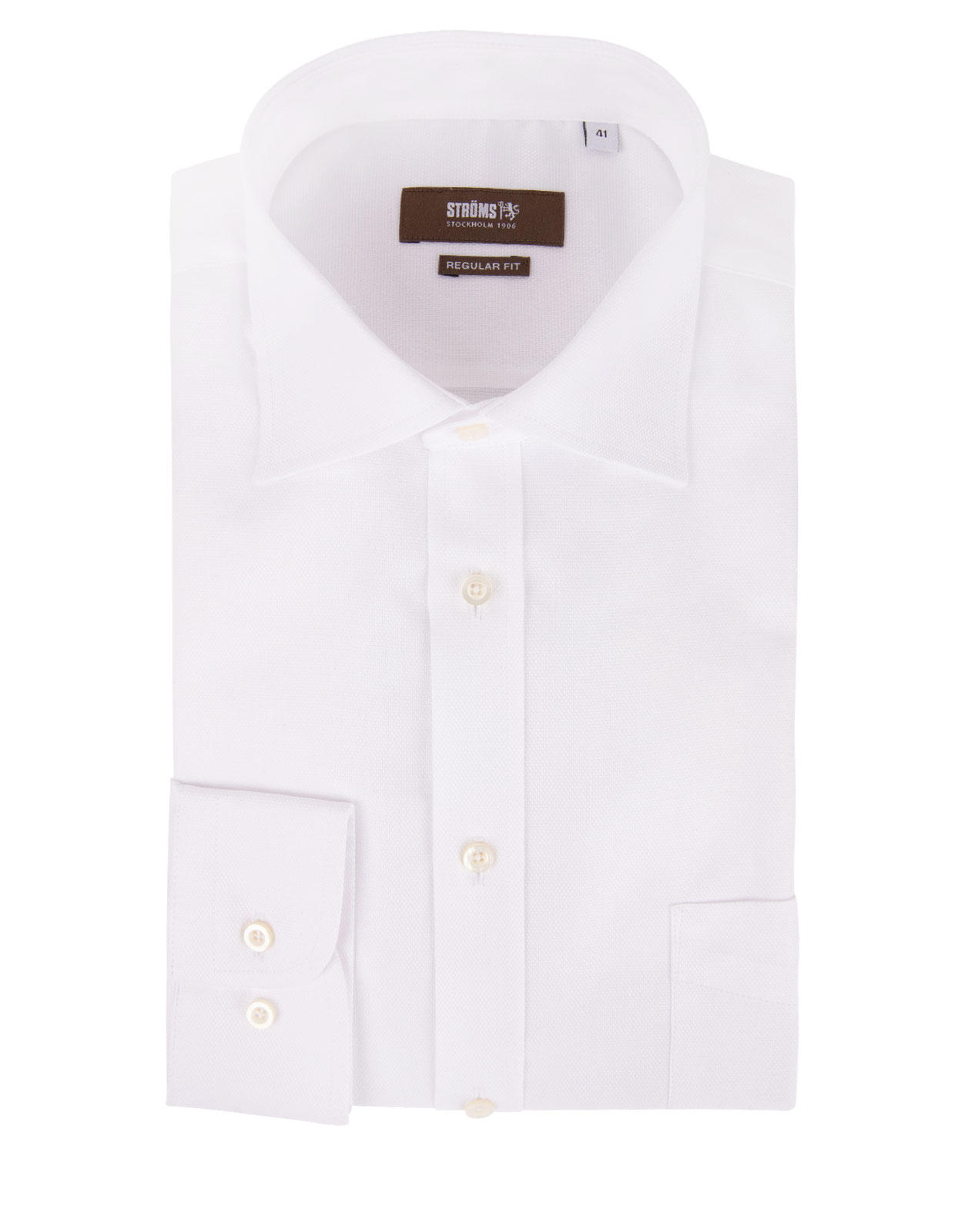 Regular Fit Royal Oxford Shirt White