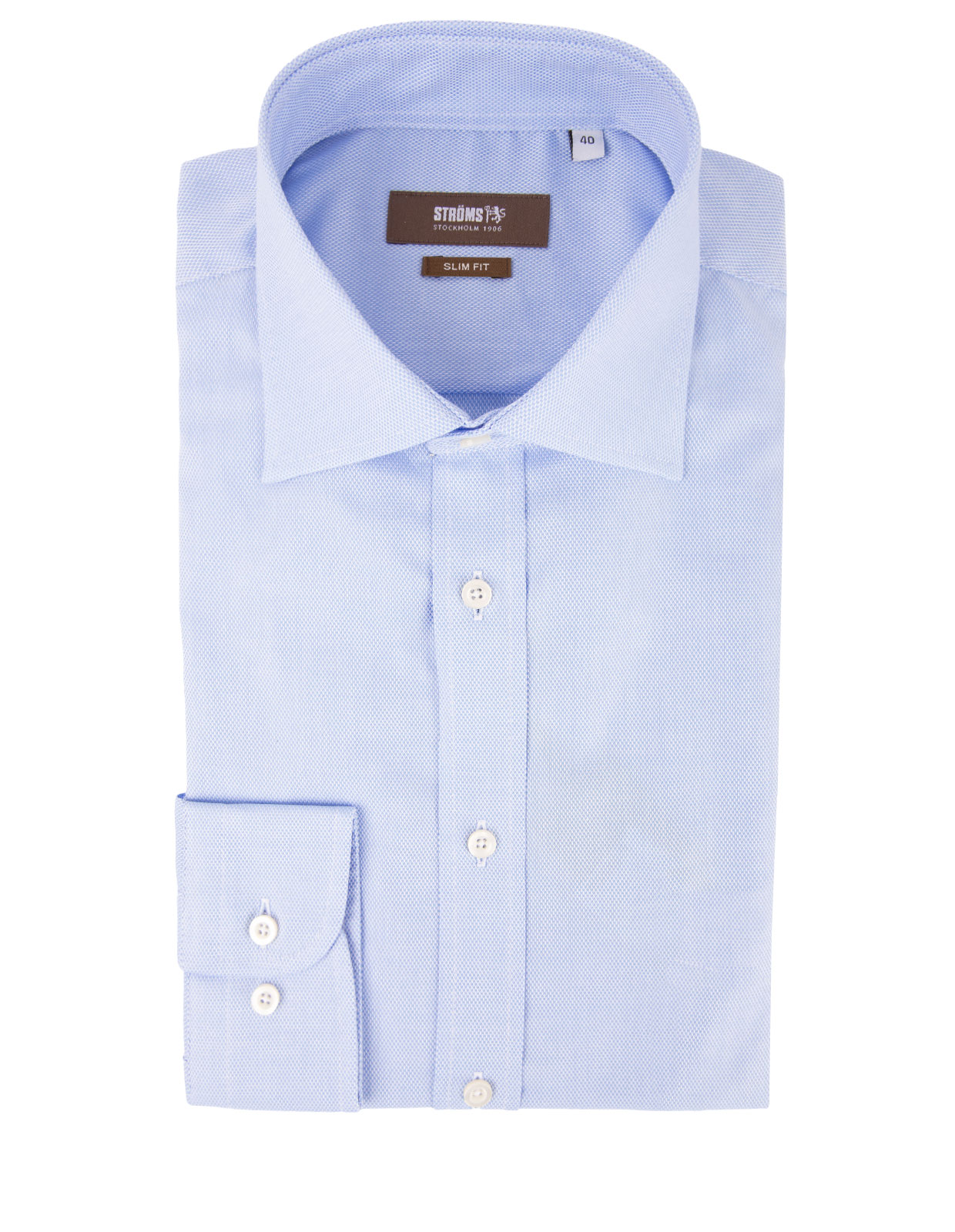 Slim Fit Royal Oxford Shirt Light Blue