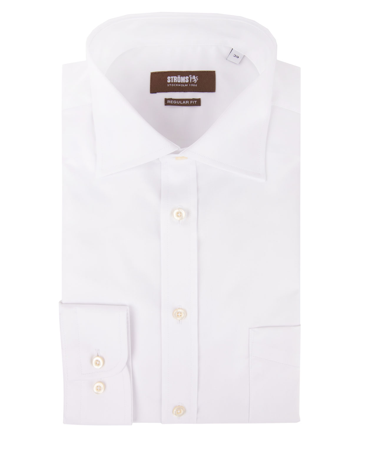 Regular Fit Cotton Shirt White