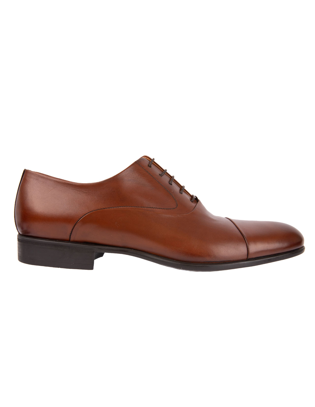 Dublin Oxford Shoes Calfskin Rubber Sole Tan