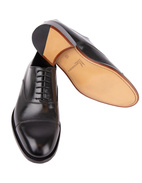 New York Oxford Shoes Calfskin Black Stl 7.5