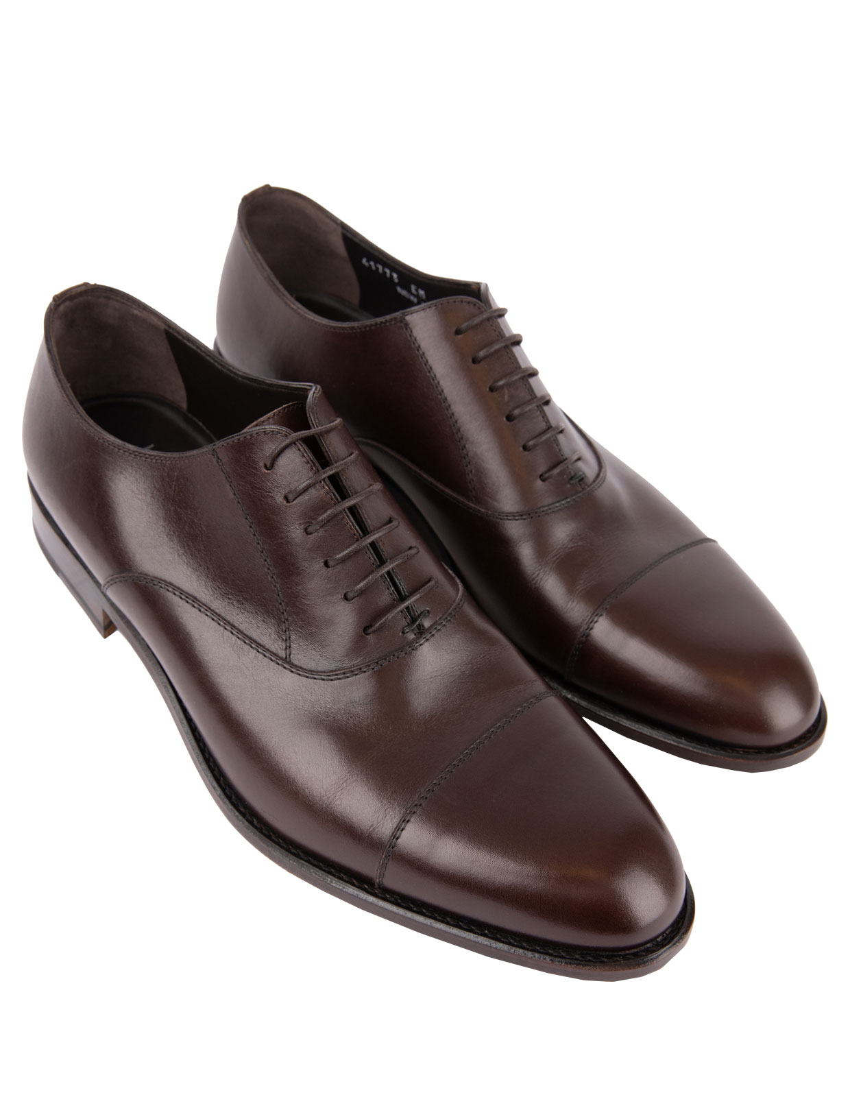 New York Oxford Shoes Calfskin Brown