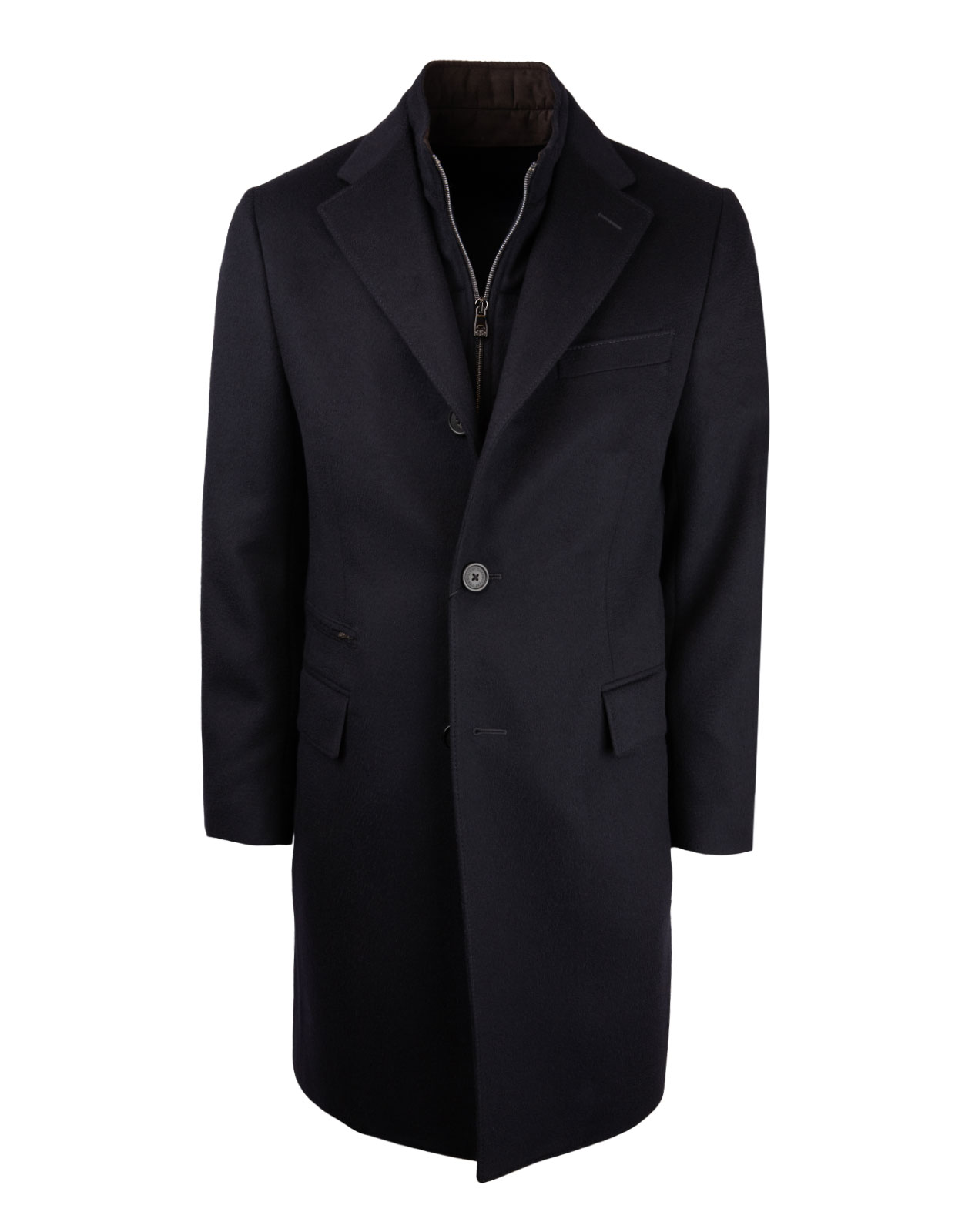 ID Coat Wool Navy