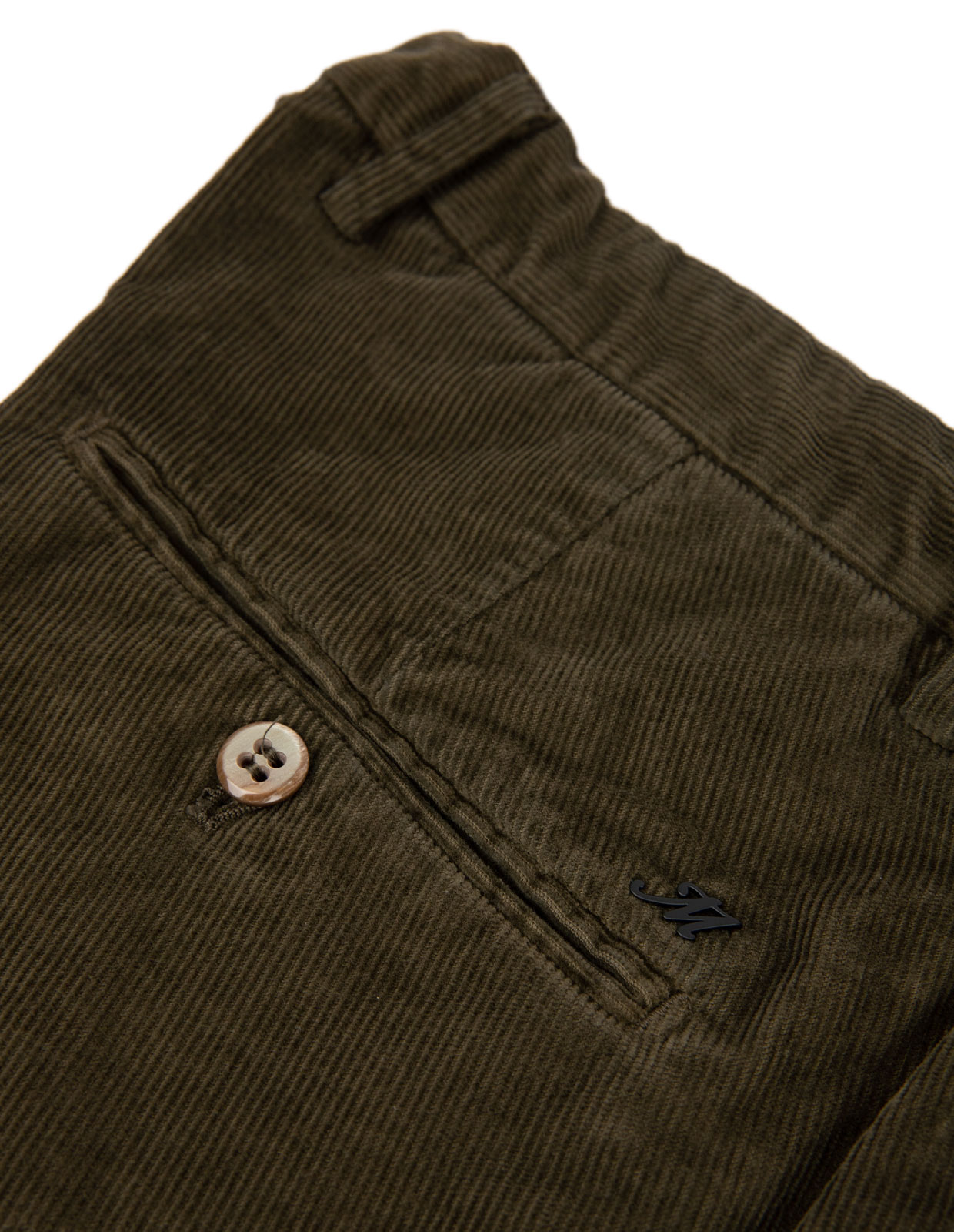 Milano Slim Chinos Manchester Stretch Olive