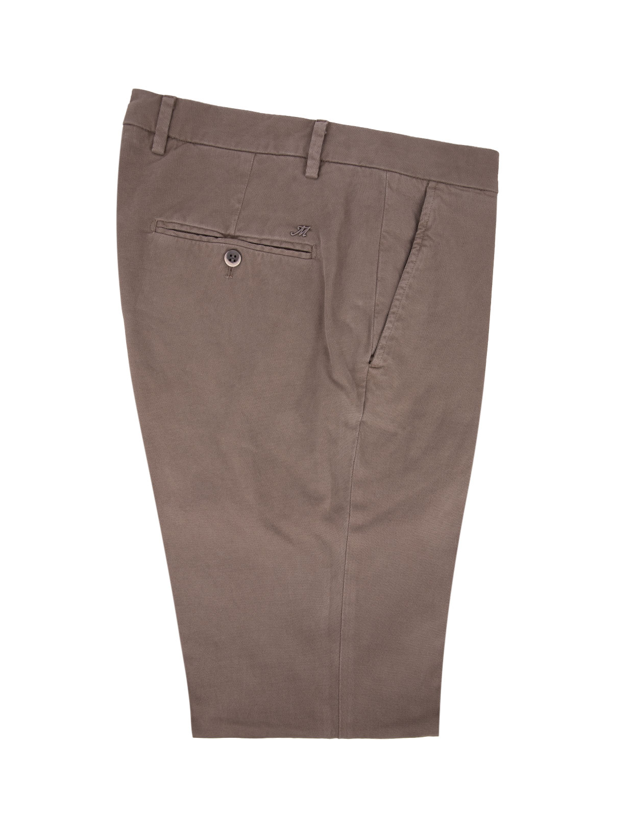 Milano Slim Chinos Bomull Stretch Khaki