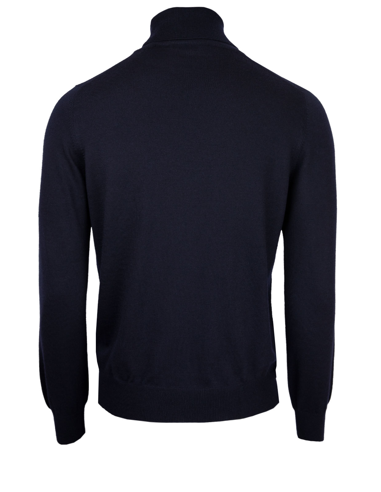 Roll Neck Fashion Fit Extra Fine Merino Navy
