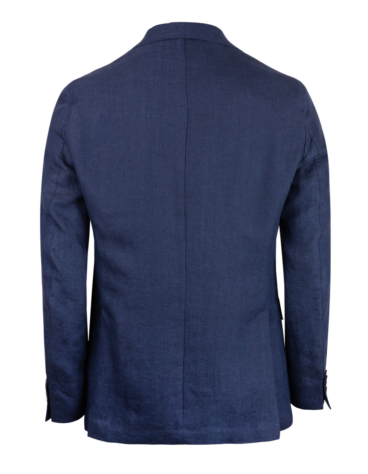 Ferry Regular Linen Jacket Mix & Match Navy