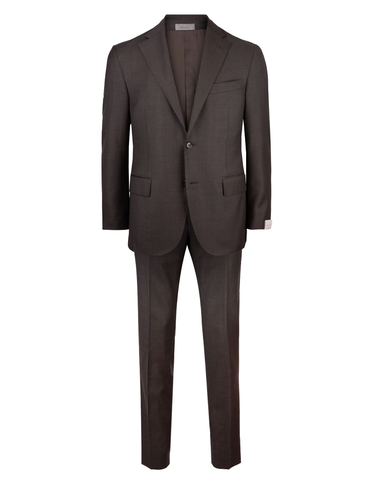 Academy Soft 7296 Wool Suit Brown