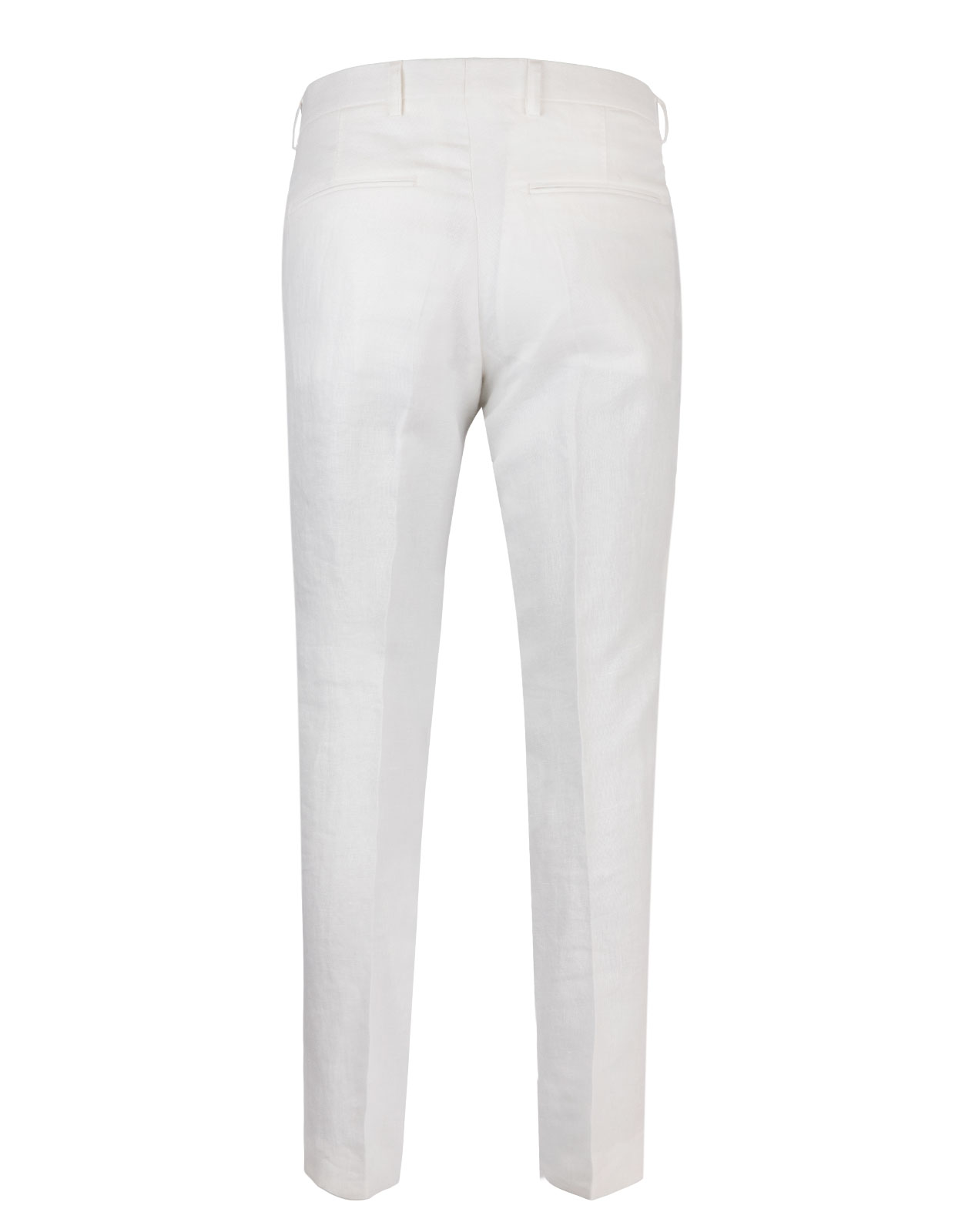 Diego Regular Linen Trouser Mix & Match White