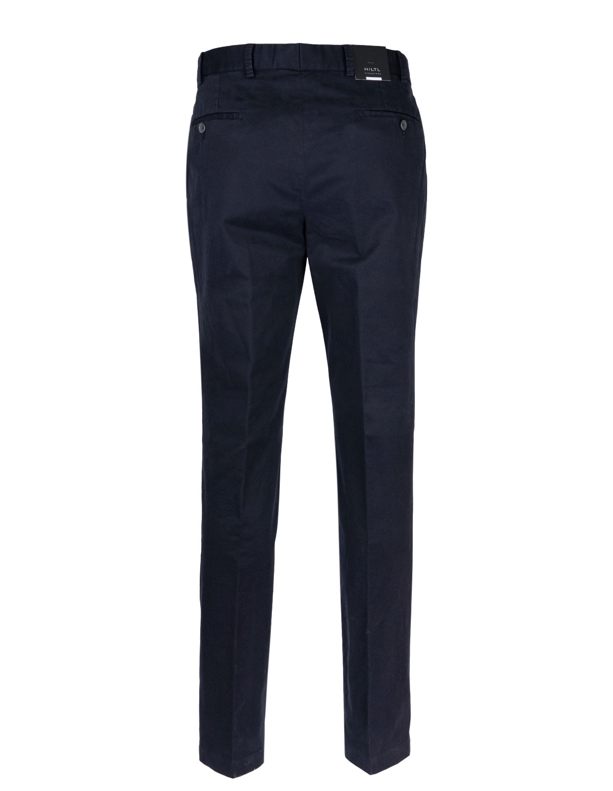 Parma Regular Fit Byxa Cotton Twill Navy
