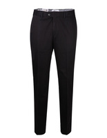 Parma Regular Fit Byxa Cotton Twill Black