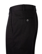 Parma Regular Fit Byxa Cotton Twill Black Stl 156