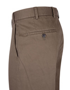 Parma Regular Fit Byxa Cotton Twill Khaki