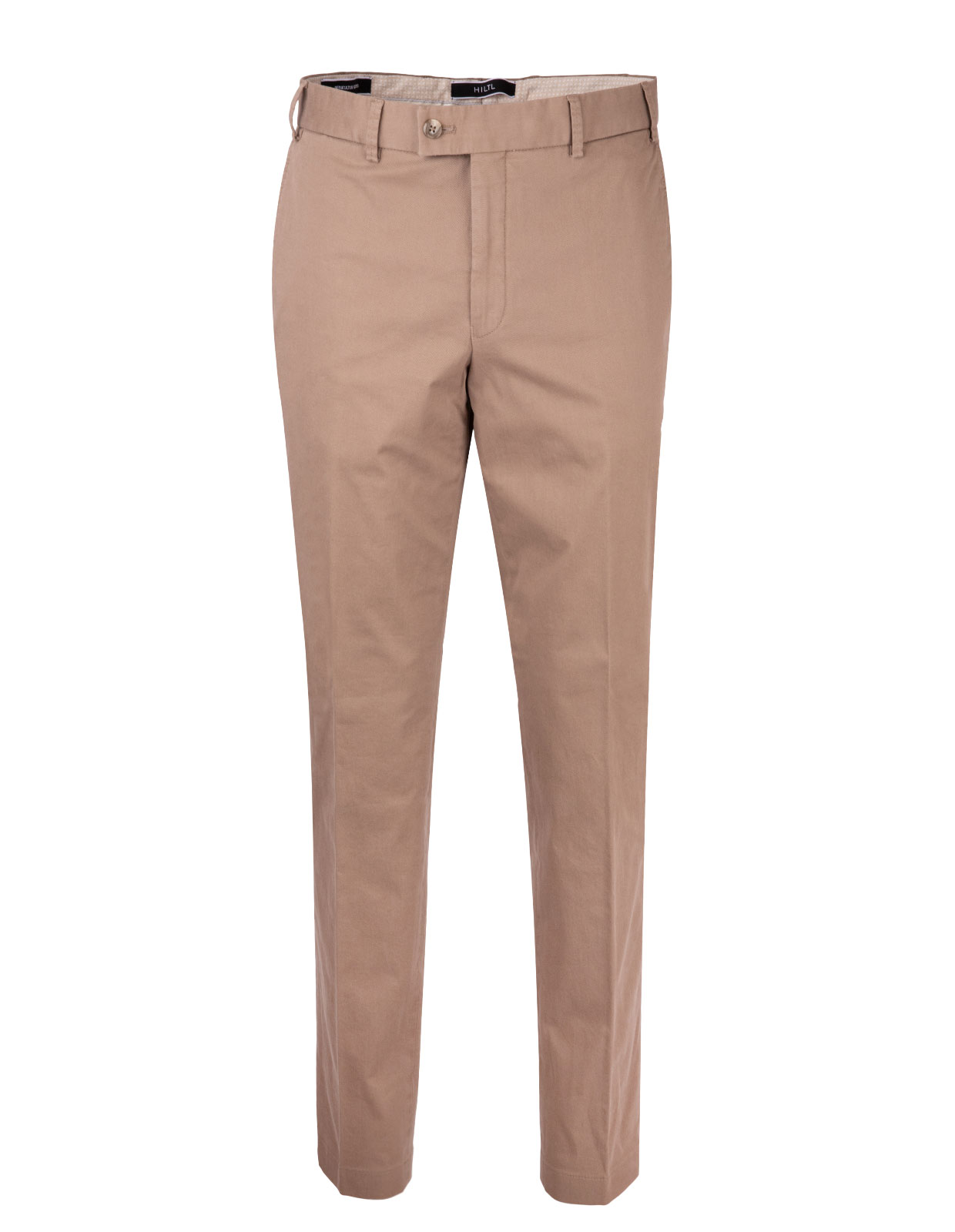 Parma Regular Fit Byxa Cotton Twill Mole
