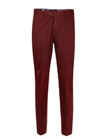 Parma Regular Fit Byxa Cotton Twill Wine