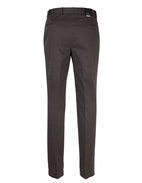 Parma Regular Fit Byxa Cotton Twill Dk. Grey Stl 156