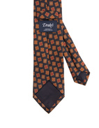 Classic Patterned Handmade Silk Tie
