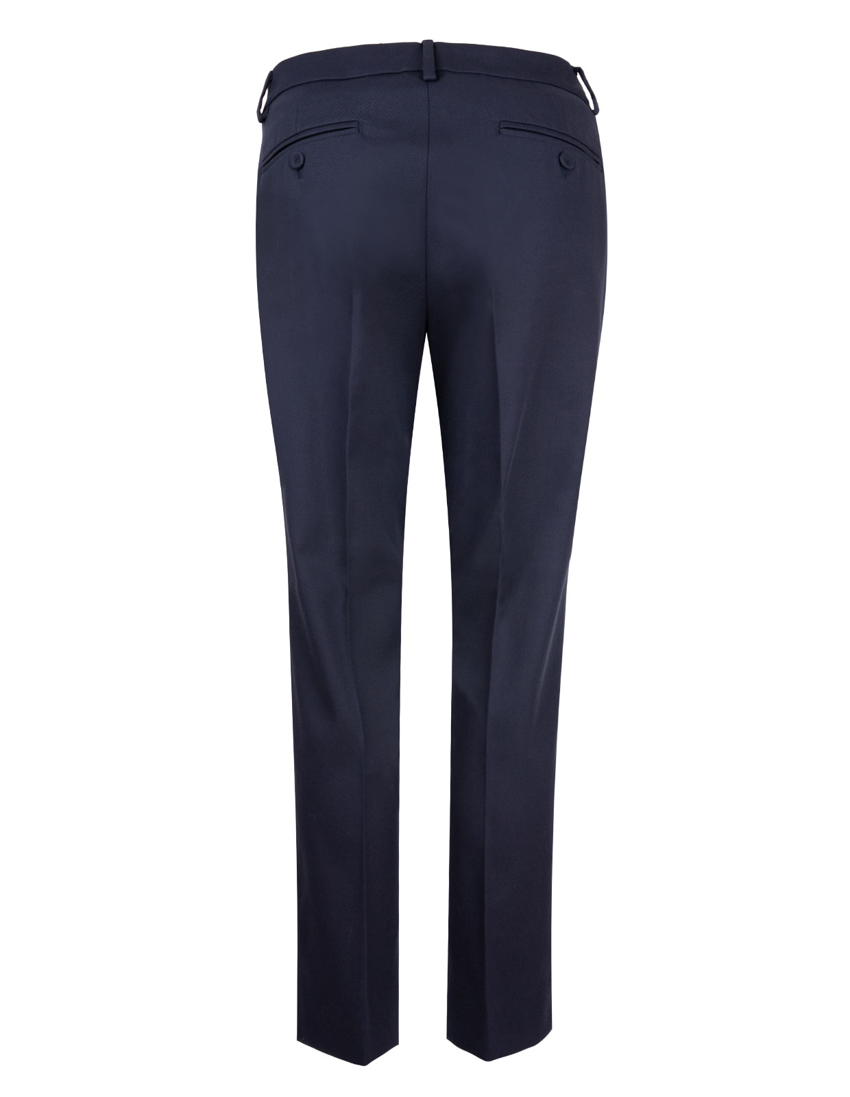 Cotton Trousers Vite Blu