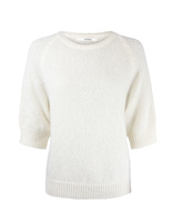 Rosie Mohair Sweater Offwhite