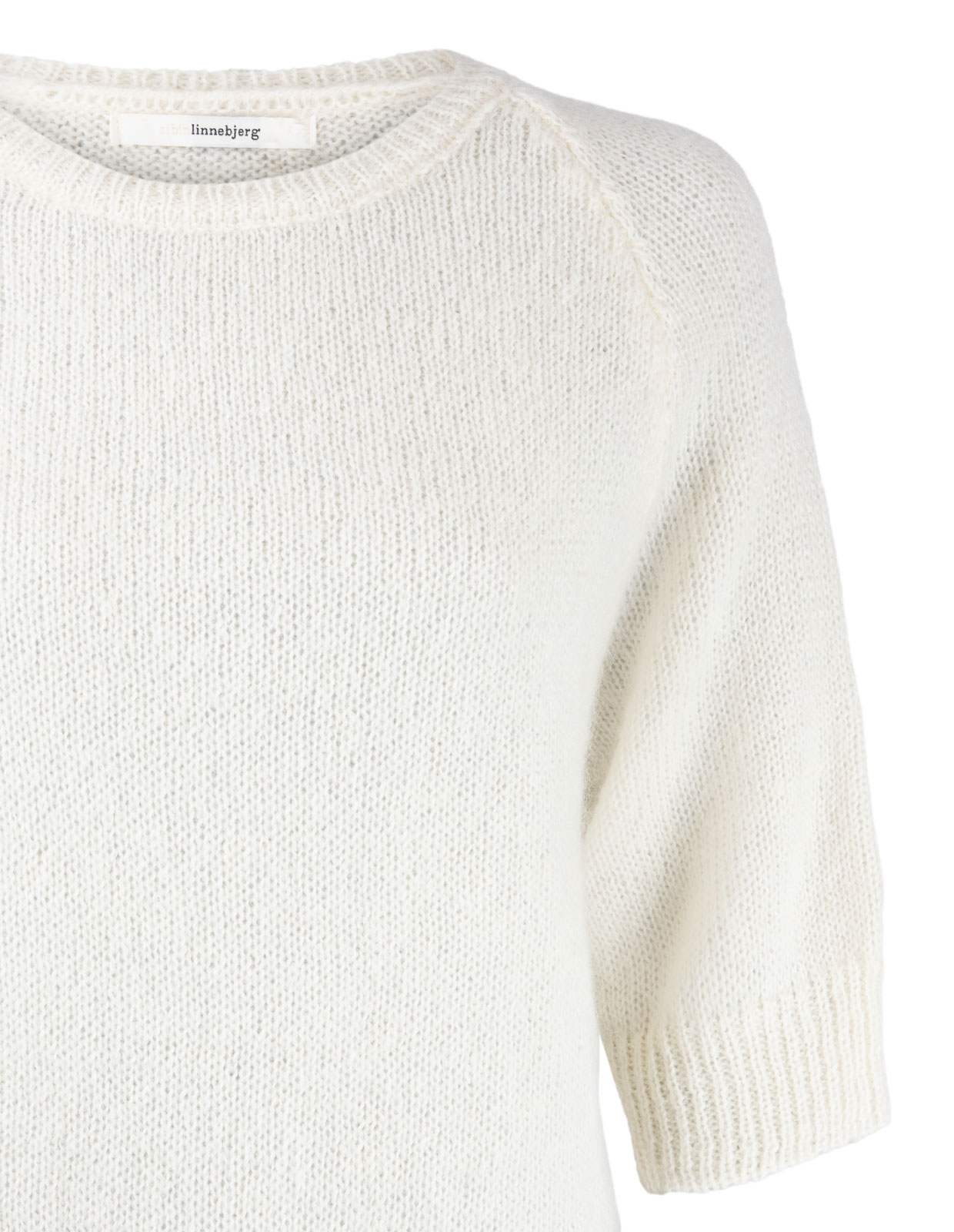 Rosie Mohair Sweater Offwhite Stl XS
