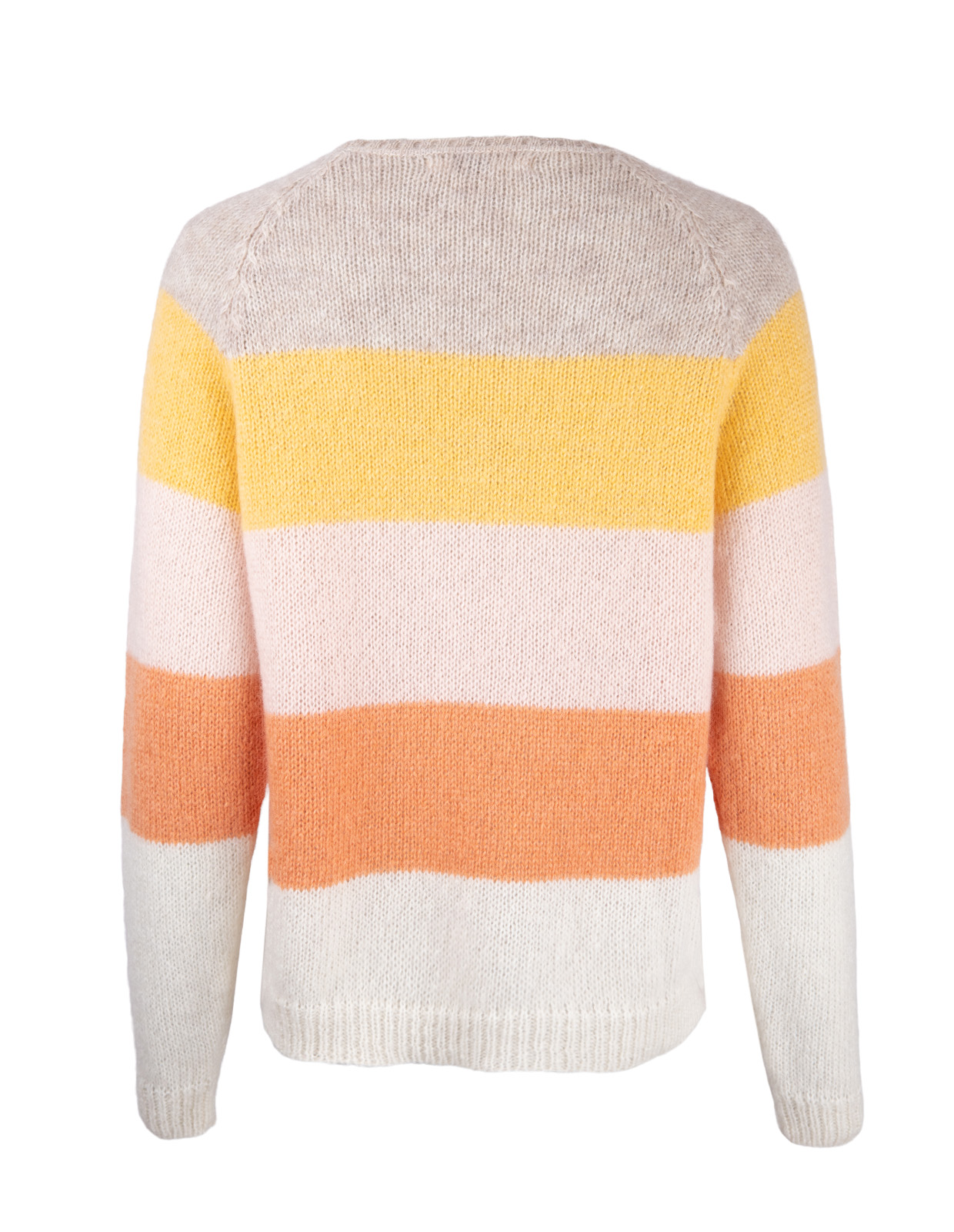 Crew Neck Aki Multistripe Multi
