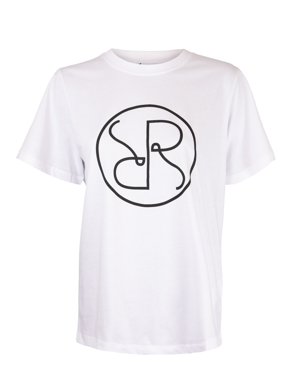 T-shirt Monogram White