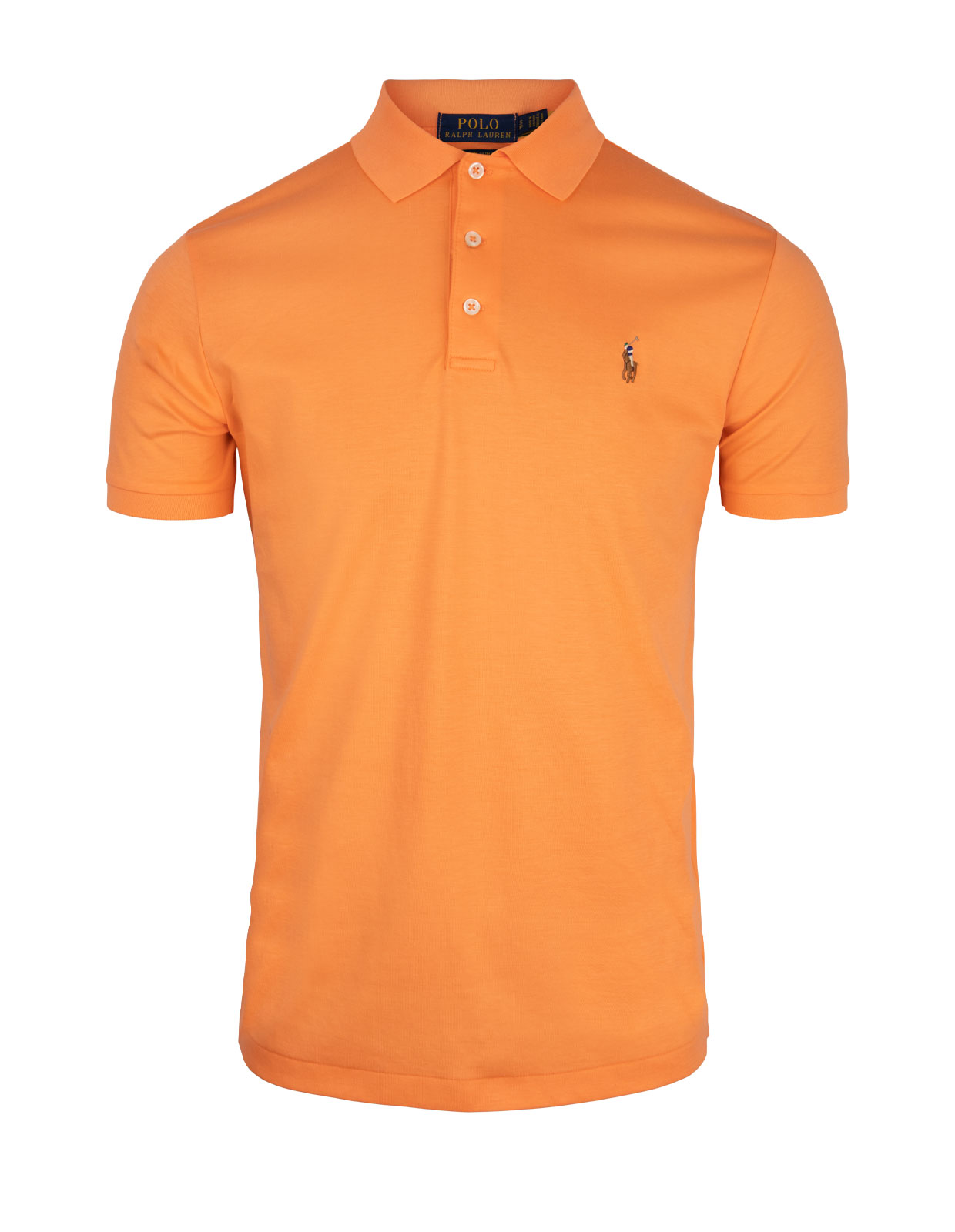 Custom Slim Fit Soft Cotton Polo Classic Peach