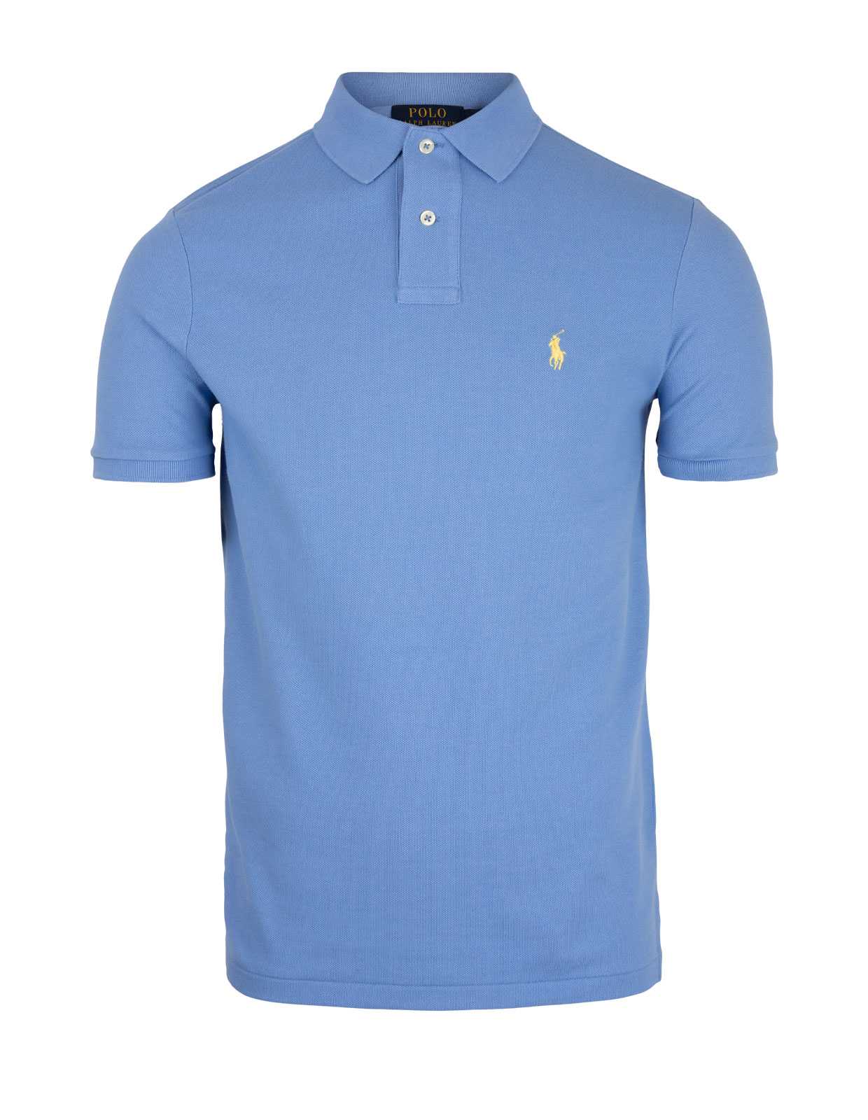Custom Slim Fit Polo CabanaBlue