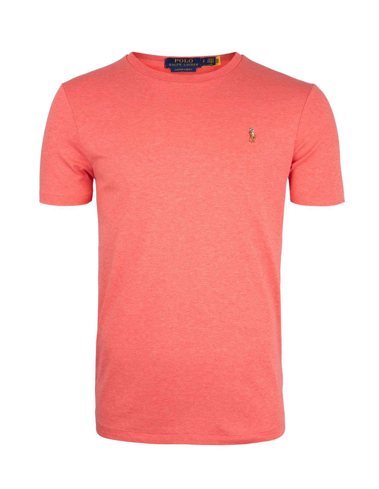 Luxury Pima Cotton Crew Neck Tee Highland Rose