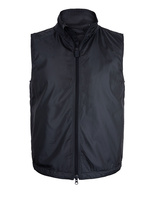 Lightweight Nylon Gilet With Thermore Wadding Navy