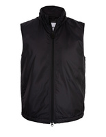 Lightweight Nylon Gilet With Thermore Wadding Black
