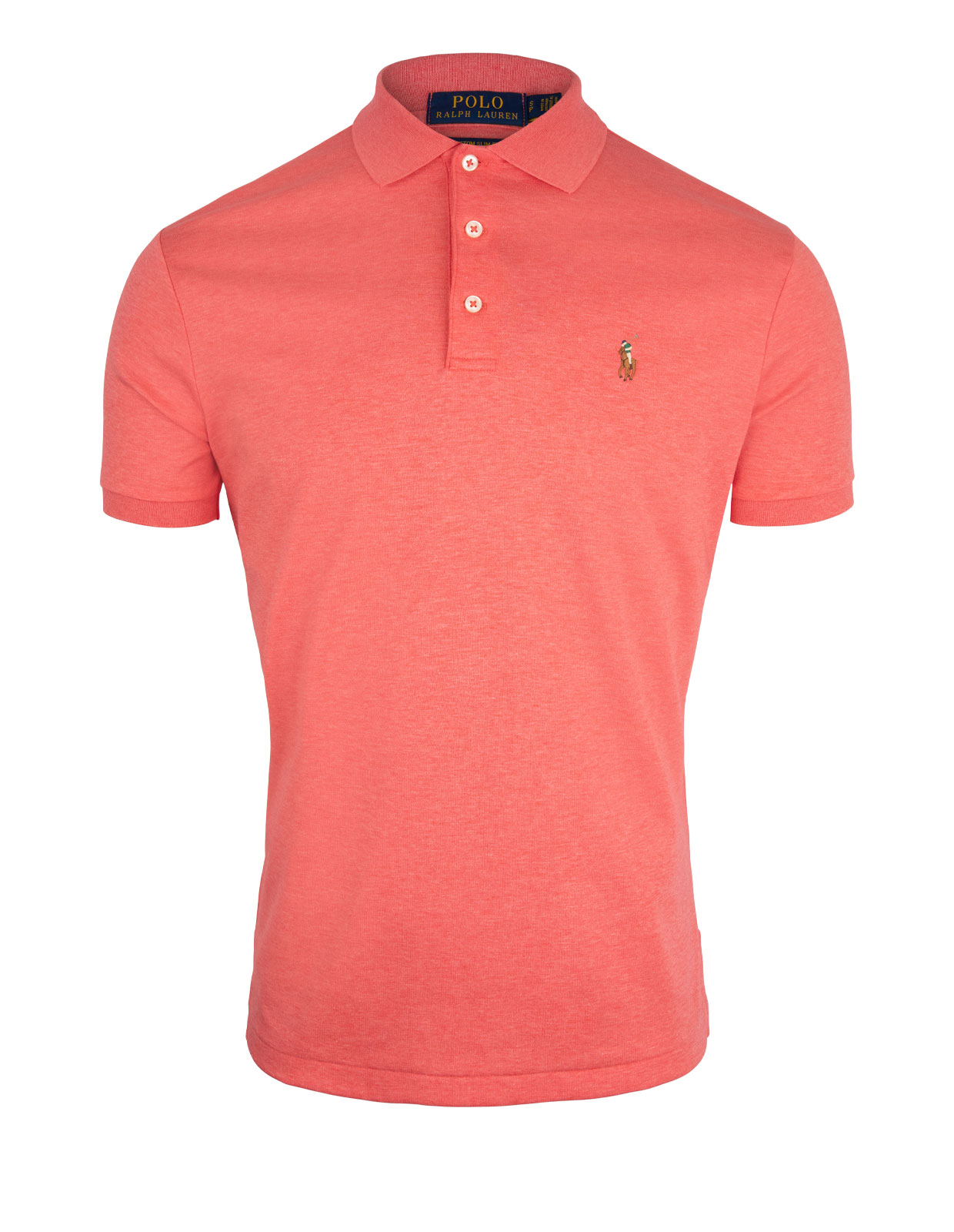 Custom Slim Fit Soft Cotton Polo Highland Rose