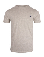 Custom Slim Fit Cotton T-Shirt Grey Heather
