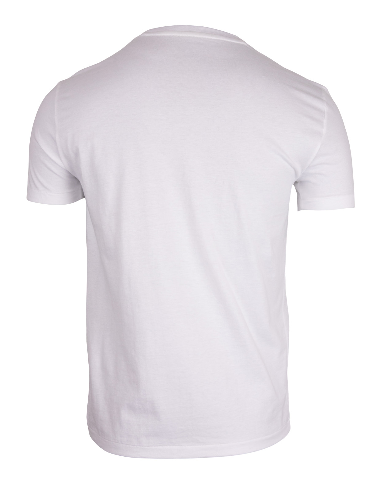 Custom Slim Fit Cotton T-Shirt White