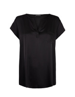 Silk Blouse Black