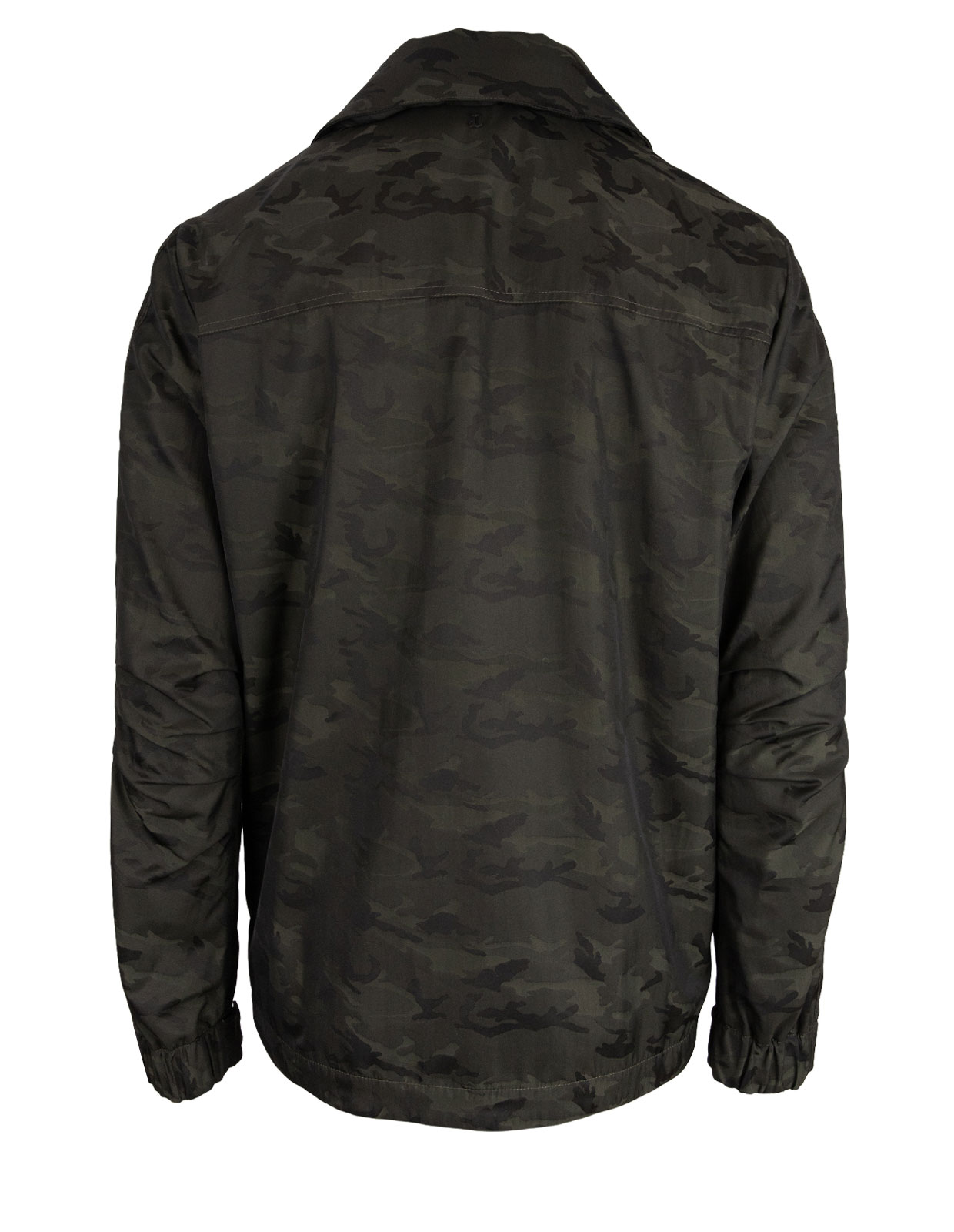 Camouflage Pattern Nylon Field Jacket Camo Green